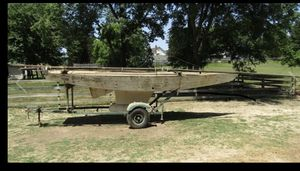Antique 1936 Star Sailboat with Mast and Trailer for Sale in Chapel Hill, NC