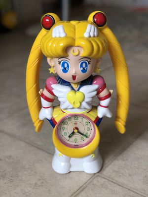 Sailor Moon talking alarm clock for Sale in Los Angeles, CA