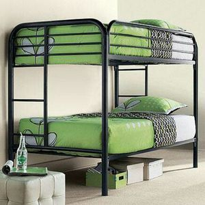 NEW BUNK BED TWIN TWIN WITH MATTRESS NEW for Sale in Lake Park, FL