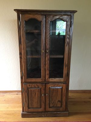Solid Oak Cabinet for Sale in Santa Clara, CA