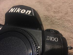 Nikon D100 Digital SLR Camera DSLR Body +Battery +Charger for Sale in Everett, WA
