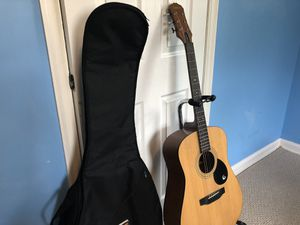 Guitar, Bag, Stand, and Book for Sale in Cherry Hill, NJ