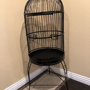 Restored Wrought Iron Parrot Cage for Sale in Santa Ana, CA