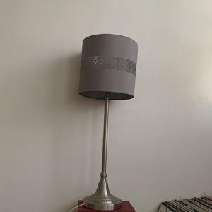 Grey Table Lamp for Sale in Pasadena, CA