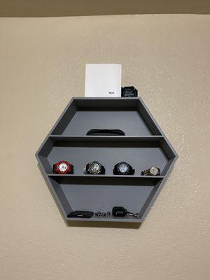 Shelf For ( Watch, Keys , Wallet , pictures , Hat shelf ) for Sale in Fresno, CA