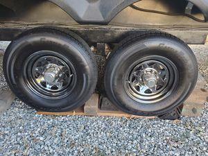 Castle rook st. Tires 235 80 16 for Sale in Pico Rivera, CA