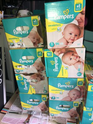 Pampers diapers for Sale in Lakeside, CA