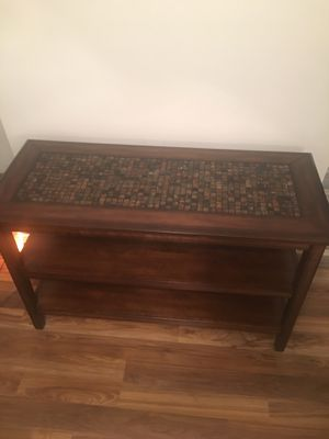 Console table mosaic from Levins for Sale in Greensburg, PA