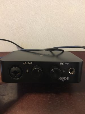 Rode Auto Interface Single for Sale in Charlotte, NC