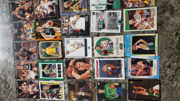 Lot of 40 LARRY BIRD Boston Celtics card ALL FOR $30