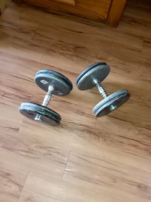 Weights / dumbbells / 80lbs for Sale in Fresno, CA
