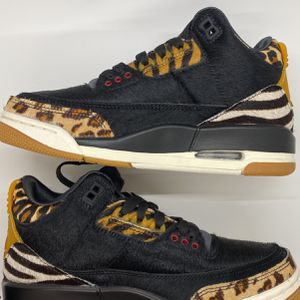 Nike Air Jordan 3 Retro SE Animal Instinct Black Sail for Sale in Atlanta, GA