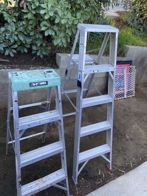 2– Ladders 5 and 4 Ft for Sale in Lake Elsinore, CA