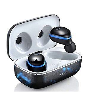 Bluetooth 5.0 Wireless Earbuds with Charging Case Waterproof TWS Stereo Headphones in Ear Built in Mic Headset Premium Sound for Sale in Long Beach, CA