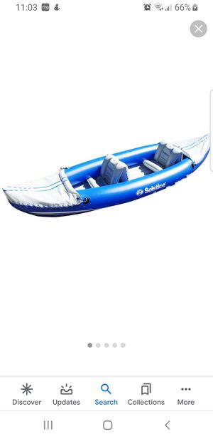 Inflatable 2 seater kayak NEW in box for Sale in Montclair, CA