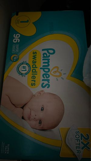 Diapers size 1 for Sale in Opa-locka, FL