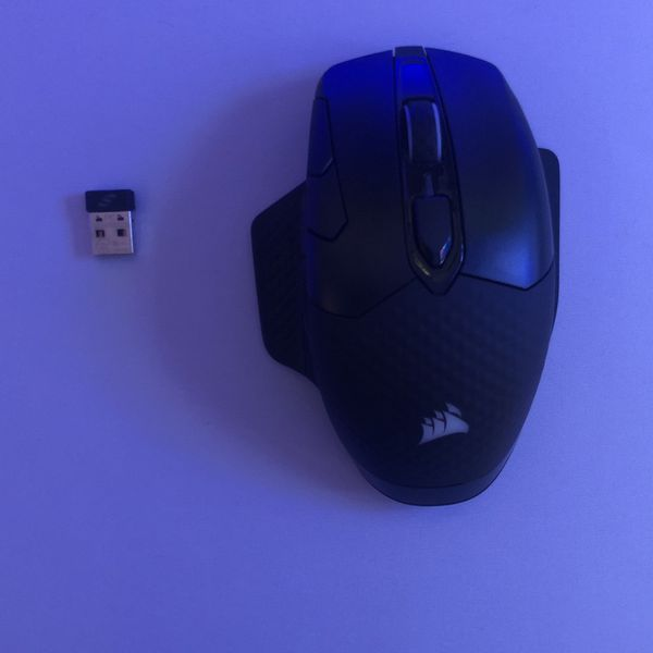 Corsair Dark Core RGB Pro, Wireless FPS/MOBA Gaming Mouse With SLIPSTREAM Technology, Black, 18000 DPI, Brand New