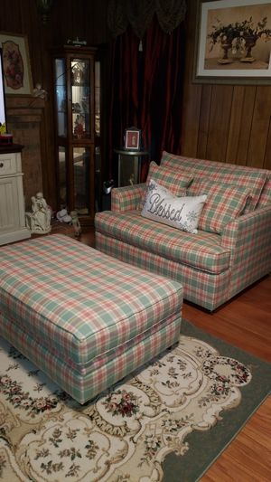 Sofa bed twin & ottoman both $325 for Sale in Falls Church, VA