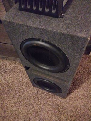 Subwoffers Speakers for Sale in Dallas, TX