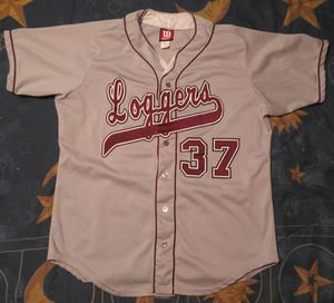 PLU Loggers all stitched Baseball jersey for Sale in Tacoma, WA
