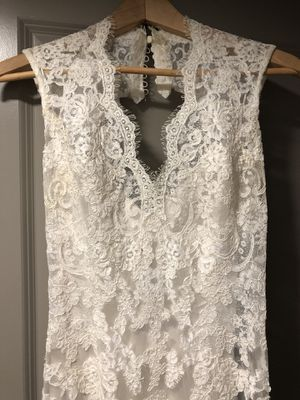 Wedding dress - size 6 for Sale in Nashville, TN