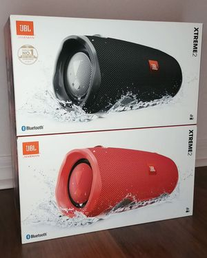 Brand new Portable Speaker. JBL Extreme2. Available in two colors Black, and Red. Sold separately. for Sale in Miami, FL