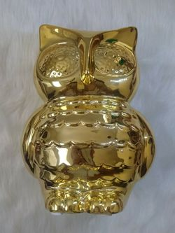 Owl Bank By Beriwinkle / Gold Colored for Sale in Spring Valley,  CA