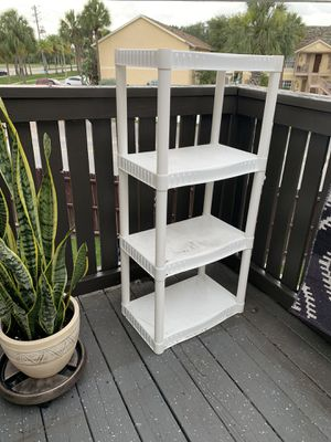 Plastic Shelving Unit for Sale in Winter Park, FL