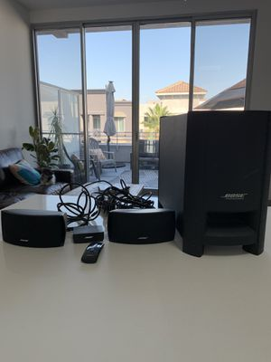 Bose CineMate series II digital home theater system for Sale in Los Angeles, CA