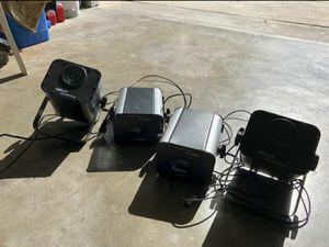 DJ Led lights Eliminator Electro 4 pack for Sale in Santa Ana, CA