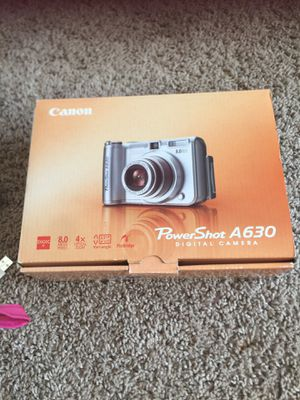 Canon camera powershot A630 digital for Sale in Hanahan, SC
