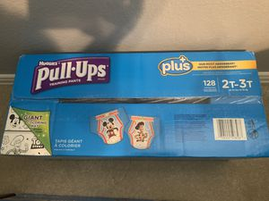 2T-3T Huggies Pull-Ups 128 count for Sale in McKinney, TX