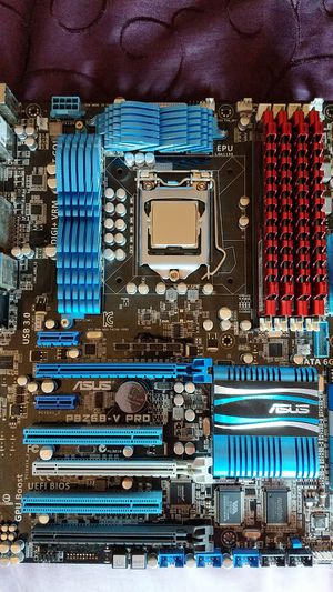 i7-2600K Intel CPU and P8Z68-V Pro Mobo for Sale in Ferndale, WA