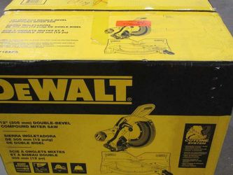"DeWalt 12"" Compound Double Bevel Miter Saw NEW for Sale in Houston,  TX"
