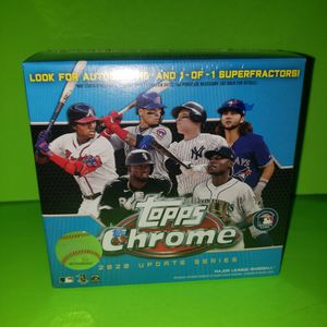 Topps Chrome BASEBALL 2020 Update Series for Sale in La Puente, CA