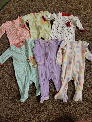 Sleeper pajamas newborn & 0-3 months for Sale in Surprise, AZ