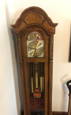 RIDGEWAY GRANDFATHER CLOCK - Purchased from BAYSTATE CLOCK for Sale in Canton, PA