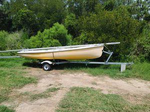 16ft sailboat brand new trailer for Sale in Yorktown, VA