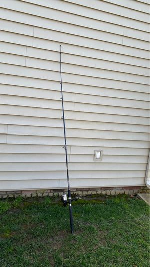 Surf fishing rod with string for Sale in Virginia Beach, VA