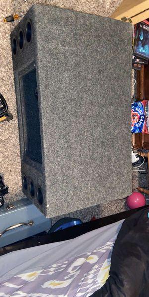 Kicker Subs 12 & Alpine X-A90V Amplifier for Sale in Everett, WA
