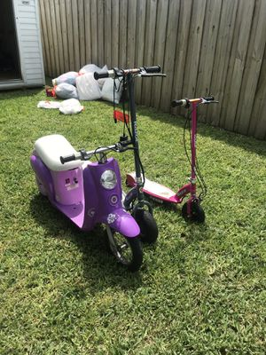 E300 razors and E100 scooters for Sale in Homestead, FL