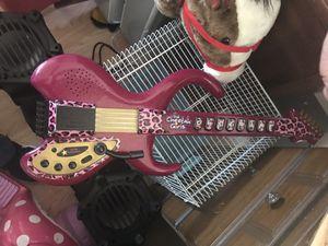 Cheetah girls guitar plays music for Sale in Potter, KS