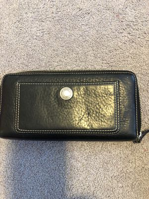 COACH leather wallet for Sale in Waterbury, CT