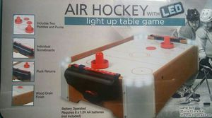 """""""NEW"""" Air Hockey with LED for Sale in Hannibal, MO"""