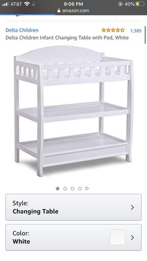 Infant Changing Table for Sale in Levittown, PA