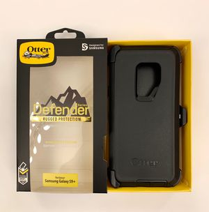 S9 (PLUS) Samsung Galaxy OtterBox with Belt Clip Holster BLACK for Sale in Norco, CA