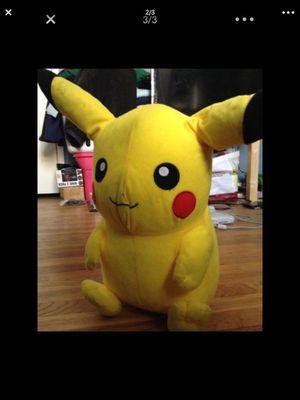 Pikachu Pokemon plush for Sale in Pico Rivera, CA