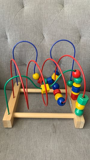Activity center/ bead rollercoaster for Sale in Ontario, CA