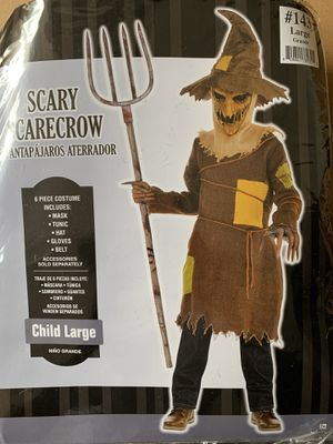 Scary Scarecrow Halloween Costume (Available in L & XL) for Sale in Austell, GA