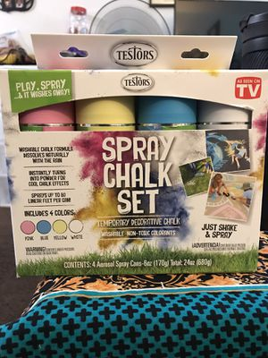 Spray chalk set for Sale in Oakland, CA